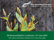 Fire and Healthy Landscapes: NCC's Bushfire Conference 4-5 June