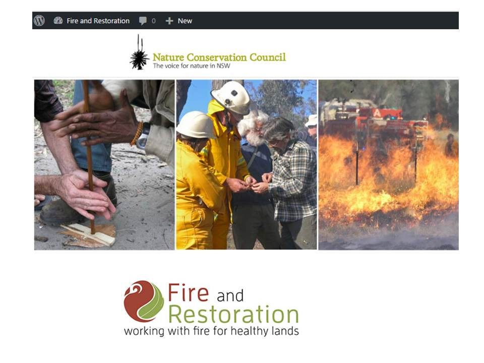 NCC Fire and Restoration Site - update