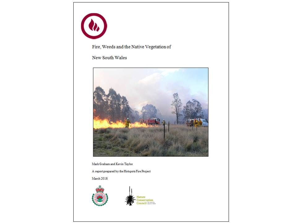 Fire and Weeds Scientific Review