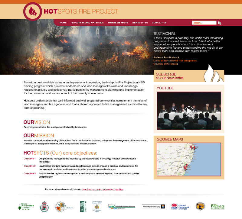 New Hotspots website launch