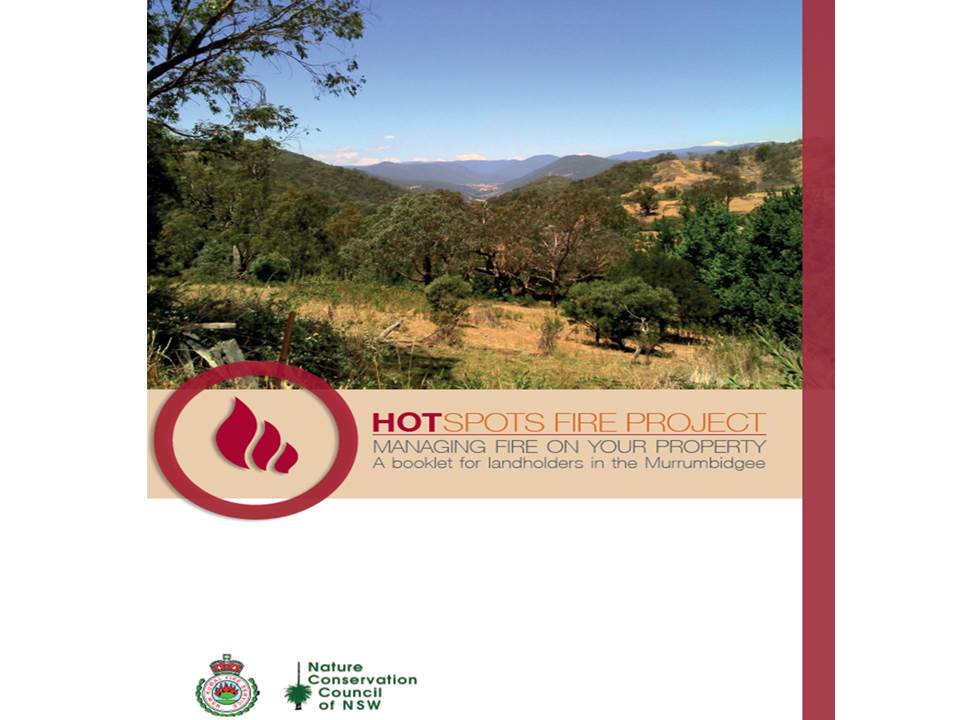 New Landholder Booklet for the Murrumbidgee Catchment